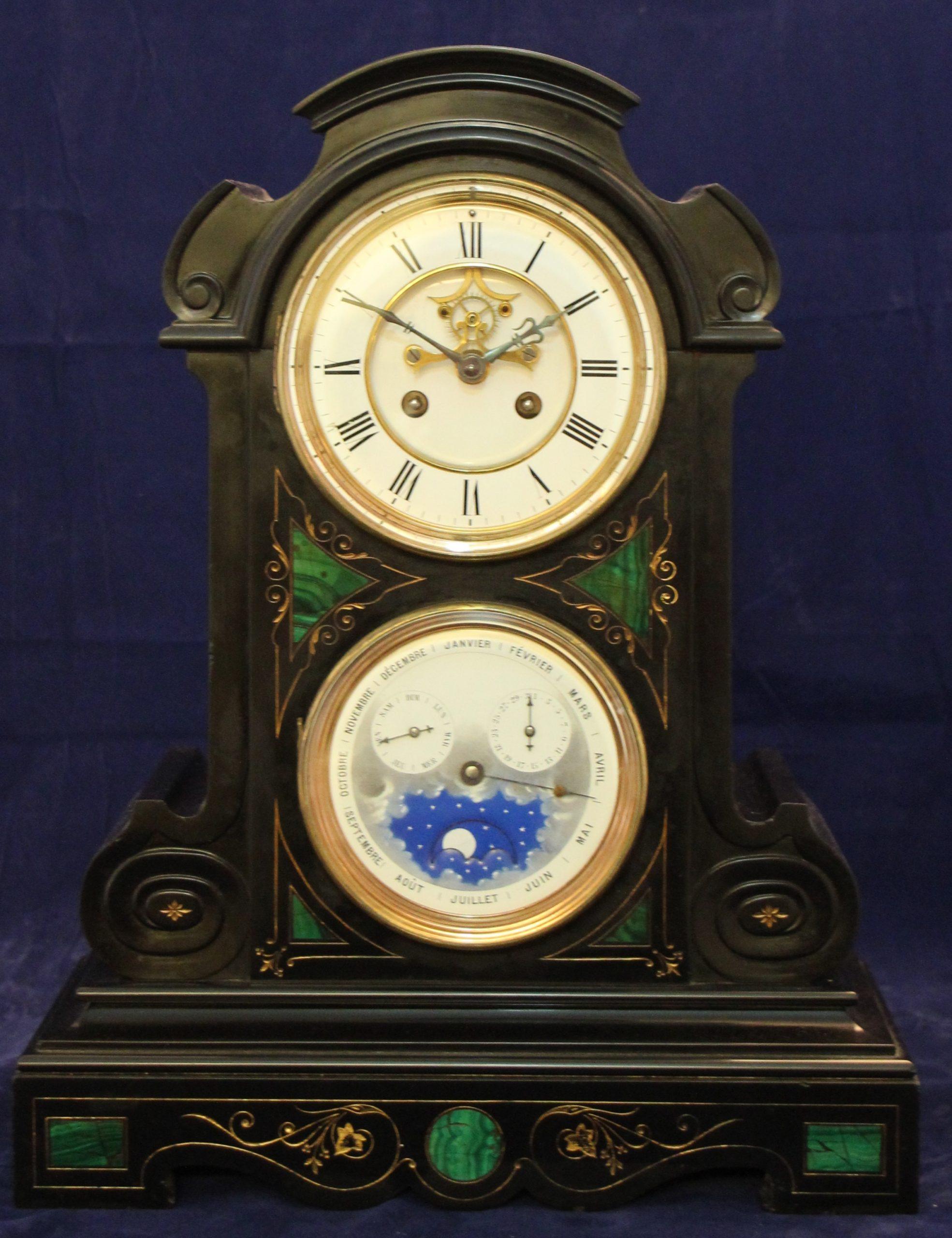 Pendule Vol Kalender ca. 1880